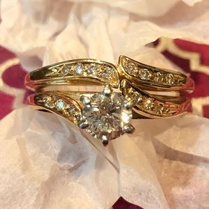 Diamond Wedding & Engagement Ring